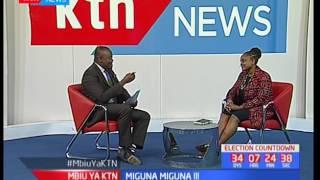 Naibu Gavana Karen Wangenye wa mgombea ugavana wa Nairobi Miguna Miguna: Mbiu ya KTN