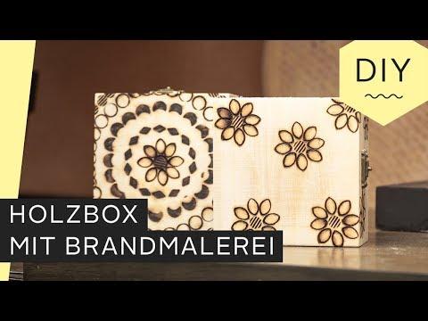 DIY: Holzbox durch Brandmalerei selbst gestalten | Roombeez – powered by OTTO
