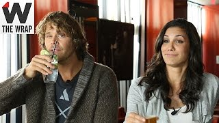 Eric Christian OLSEN et Daniela RUAH interview pour The Wrap octobre2014