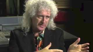 Brian May on 'Queen Forever' and Adam Lambert Nov 2014 Pt2
