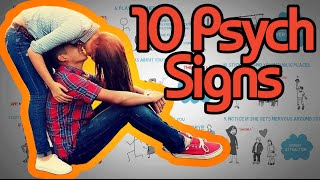 10 Psychological Signs a Girl Likes you - How to tell if she's attracted!