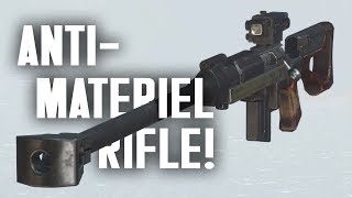 Anti-Materiel Rifle! The Mojave Meets the Commonwealth - Fallout 4 Creation Club Update