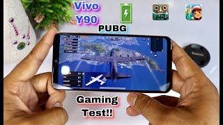 Vivo Y90 Game Test - PUBG Test!! & More Battery Test, Heat Test!!