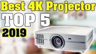 TOP 5: Best 4K Projector 2019