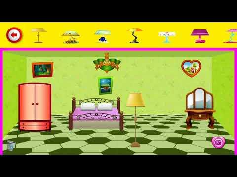 Видео девушка Кукла дом Декорирование Мечта Главная Игр