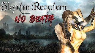 Skyrim - Requiem 2.0 (без смертей) - Бретонец-Атронахотрах #1  Путь Изгоя
