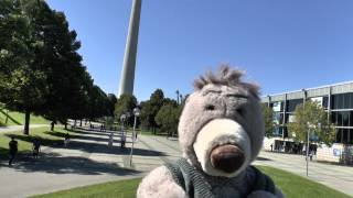 preview picture of video 'Ein Bär auf Reisen (A bear on travel): München (Munic)'
