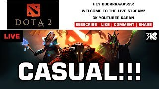 Dota 2 - Live Stream - Tuesday With Noobs - Commentary - 3K