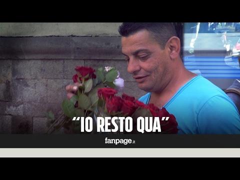 Napoli, il fioraio ambulante colpito dal Daspo urbano:
