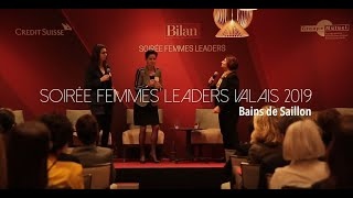 Femmes Leaders Valais: l'équilibre famille et travail Video Preview Image