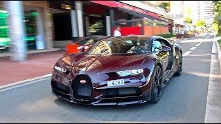 $4Million Red Carbon Bugatti Chiron in Monaco! [Monaco Supercar Insanity #6]
