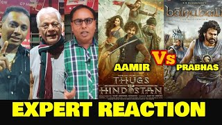 Thugs Of Hindostan vs Bahubali | EXPERT REACTION | Aamir vs Prabhas | How Fair Is This Comparison?