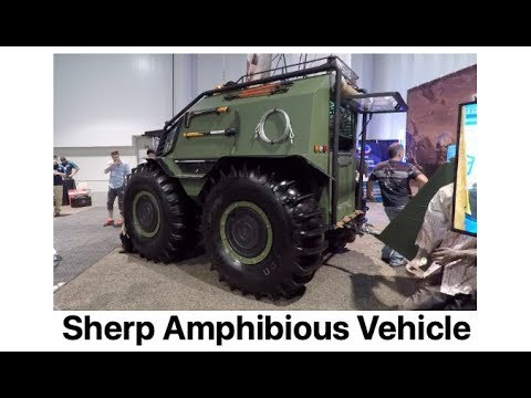 Sherp ATV Amphibious Vehicle - Made In Ukraine Available In The USA