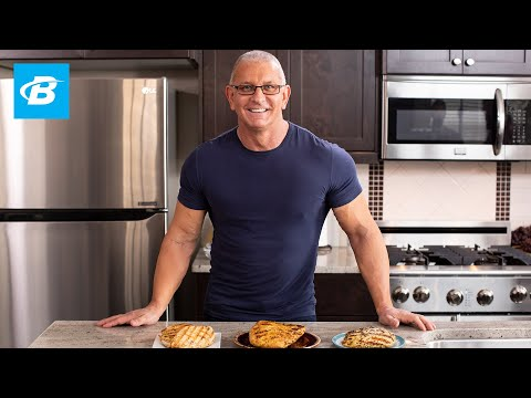 Video Chef Robert Irvine's Healthy Chicken Recipes 3 Ways