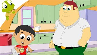 "Video thumbnail of ""Johnny Johnny Yes Papa - Nursery Rhyme"""