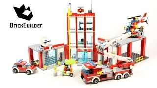 Lego City 60110 Fire Station - Lego Speed Build