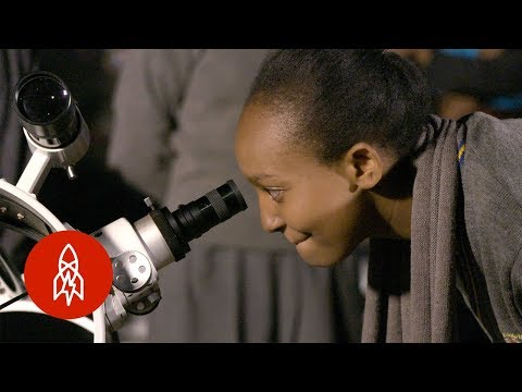 Inspiring Future African Astronomers with the Traveling Telescope
