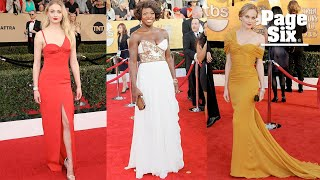 The best dresses in SAG Awards history | Page Six
