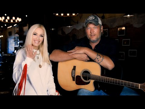 Blake Shelton and Gwen Stefani performance of Nobody But You on Red Nose Day