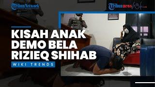 Wiki Trends - Pamit ke Masjid, Anak 12 Tahun Justru Ikut Demo Bela Rizieq Shihab