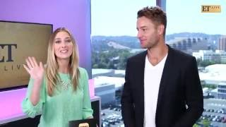 ET Live with Justin Hartley [Septembre 2016]