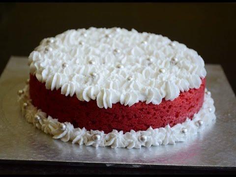 Video How To Bake Eggless Red Velvet Cake Using Pressure Cooker - No Oven Recipe