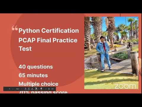 Python Certification PCAP Final Practice Test - YouTube