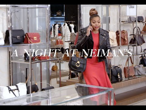 Taraji P. Henson Spends the Night at Neiman Marcus this Holiday