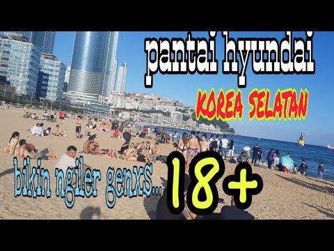 Pantai hyundai korea selatan(liburan hari ke dua di busan korea selatan)