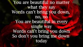 Christina Aguilera Beautiful Lyrics