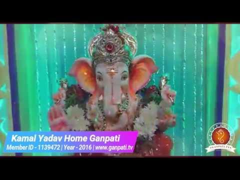 Kamal Yadav Home Ganpati Decoration Video