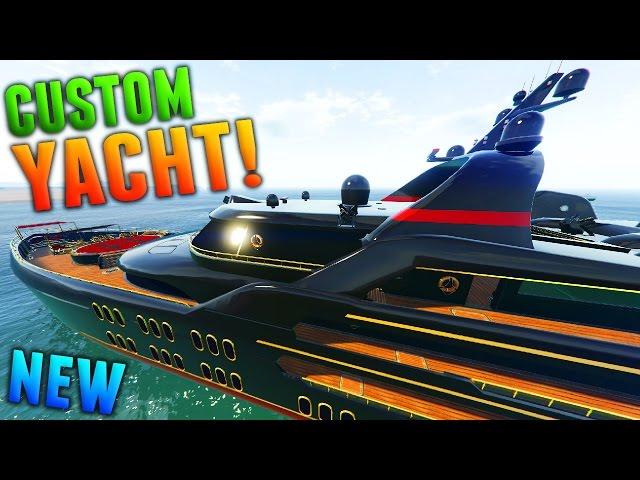 GTA Online: $10 MILLION CUSTOM YACHT GAMEPLAY! (GTA 5 DLC Super Yacht)