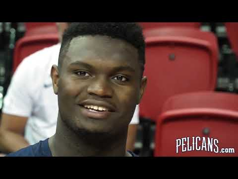 Zion Williamson Enjoying the Extra Space in the NBA | 2019 NBA Summer League