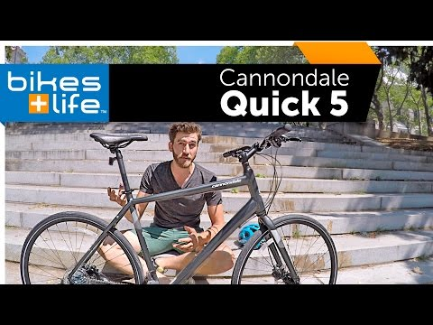 2017 Cannondale Quick 5 - Fitness Bike Video Review
