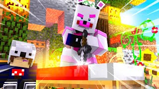 FUNTIME FREDDY IS A BED WARS MASTER! Minecraft FNAF Roleplay