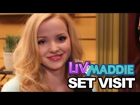 On Set of 'Liv & Maddie' with Dove Cameron, Joey Bragg & More