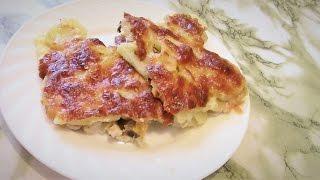 Картофельна Запеканка Простые Рецепты Запеканка с Мясом, Картофелем и Овощами