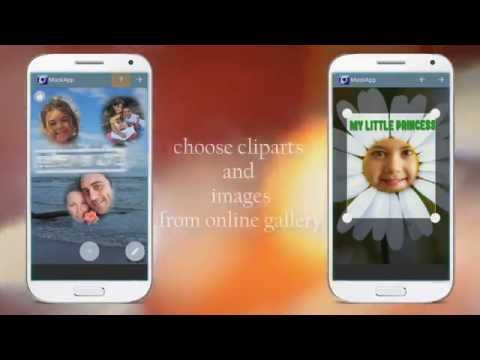 Video of Photomontage editor