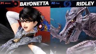 Super Smash Bros Ultimate - Invitational 2018 - Plup vs MkLeo. Bayonetta is still broken. - dooclip.me
