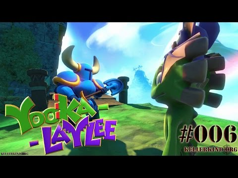 YOOKA-LAYLEE #6 – Shovel Knight erscheint! ★ Speedy plays Yooka-Laylee [HD|60FPS]