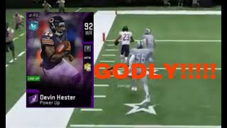 Devin Hester Is So Good!!!!! MUT20 Gameplay!!!! Win Or Go Home!!!!!