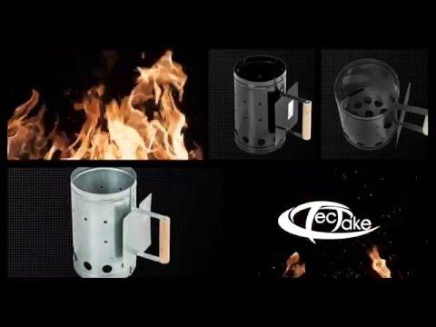 TecTake - Encendedor para barbacoa carbón