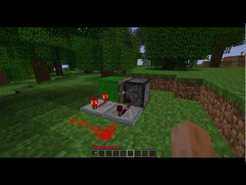Easy Piston Clock Minecraft Project