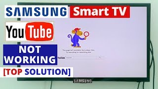 How to fix YouTube Not Working on Samsung Smart TV || Youtube Stopped Working on Samsung TV