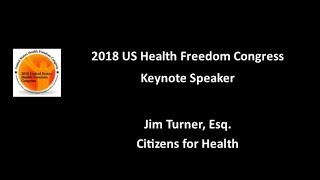 Jim Turner, Esq: 2018 Congress Keynote Speaker