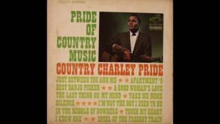 CHARLEY PRIDE - JUST BETWEEN YOU AND ME - VINYL