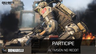Activision no Reddit - Call of Duty: Black Ops III