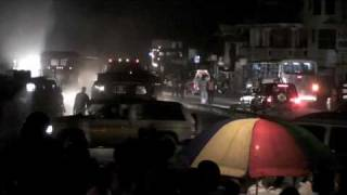 preview picture of video 'Port au Prince at Night, 200 Years free Haiti'