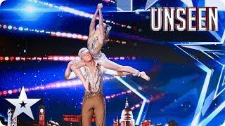 Finn & Kirsten's LEGENDARY performance defies GRAVITY! | BGT: UNSEEN