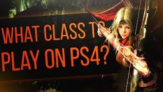 What Class To Play On PS4? - Black Desert Online PS4